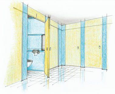 Toiletcabines moeten volgens de nieuwe regels volledig gesloten zijwanden en deuropeningen hebben. De VSRI pleit voor herstel van de oude situatie met een open strook aan de onderzijde. Dit vanwege hygiëne en toezicht op vandalisme.