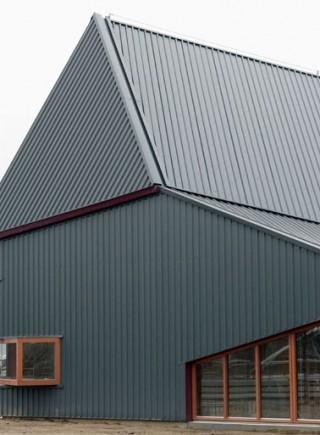 Geprofileerde staalplaat dak