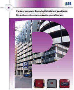 3. Voorblad SBR-publicatie 'Parkeergarages: Brandveiligheid en Ventilatie'.
