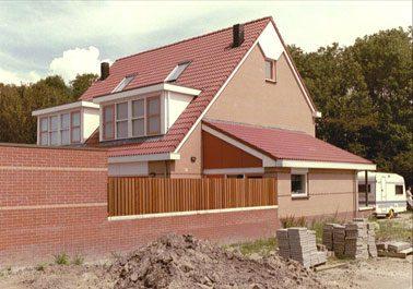De nieuwe norm anticipeert op aan- en uitbouwen van woningen