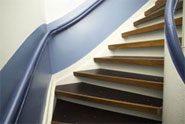 Snelle renovatie oud trappenhuis door innovatie - Vervoeren van een trappenhuis ...