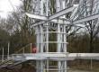 Uitkijktoren met excentrische constructie