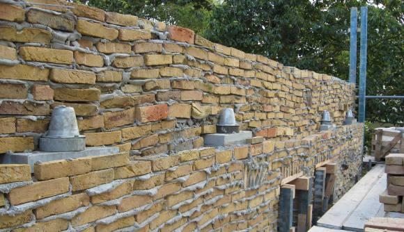 Stenen Muur Voortuin : Stenen muur voor tuin u artsmedia