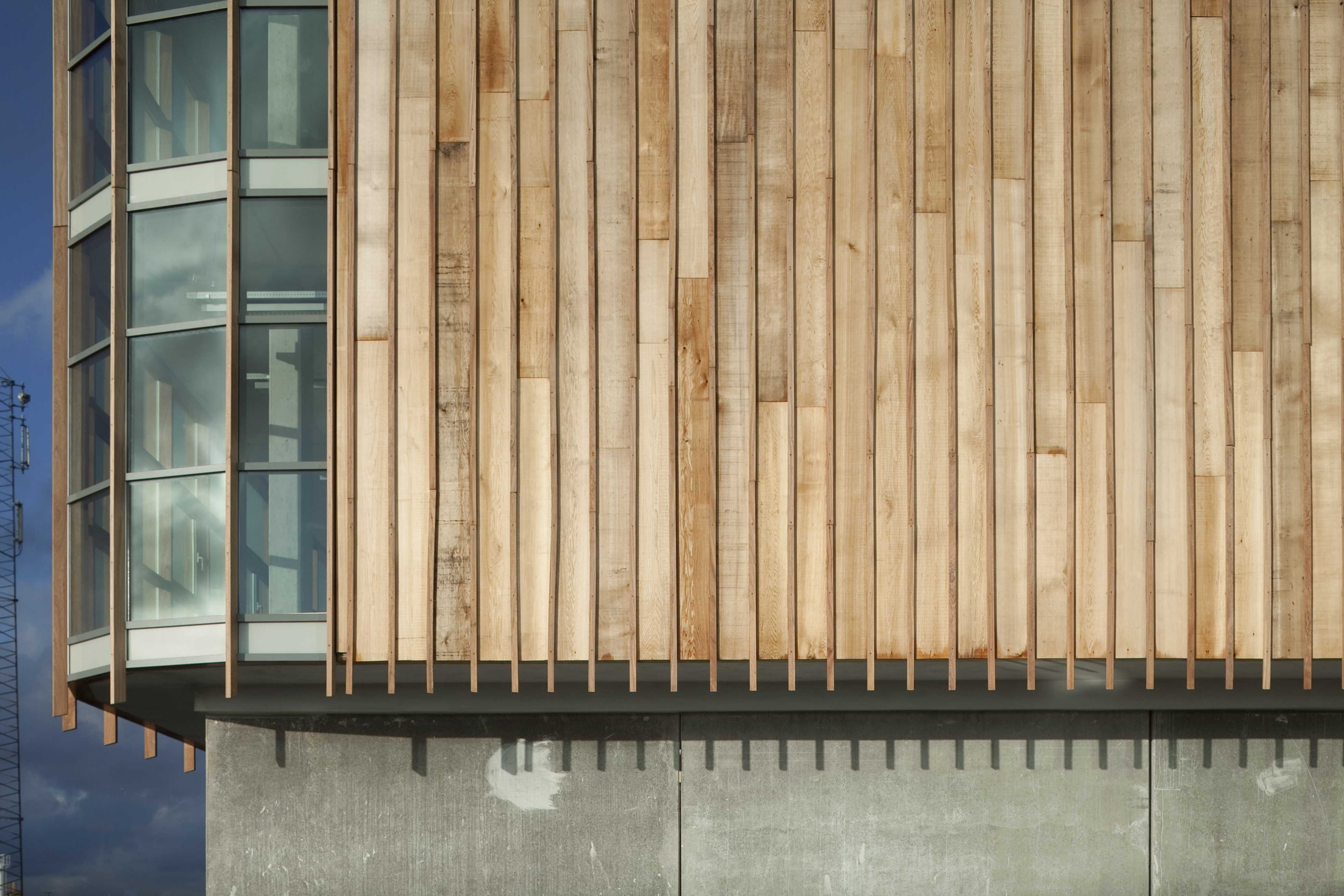 Bekend Gevelbekleding van onbehandeld hout » Bouwwereld.nl TW48