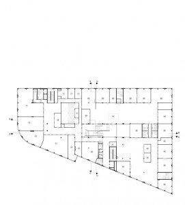 Plattegrond 1e verdieping