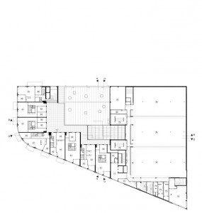 Plattegrond 3de verdieping