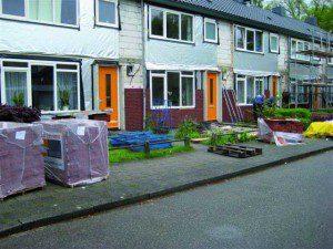 Door toepassing van de Beeksteen en hoogwaardig isolatiemateriaal hebben de woningen nu energielabel A