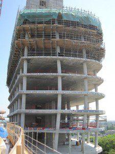 Doorkijk toren
