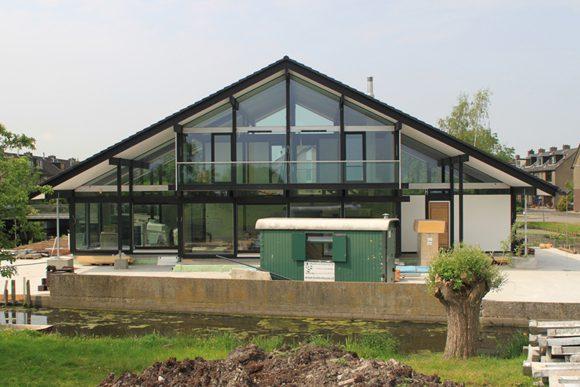 Stunning het groene huis is onder gebouwd with passiefhuis for Bouwen kostprijs