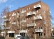 Appartementencomplex uitgevoerd in staal en hsb