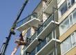 Lichtgewicht beton vergroot balkons