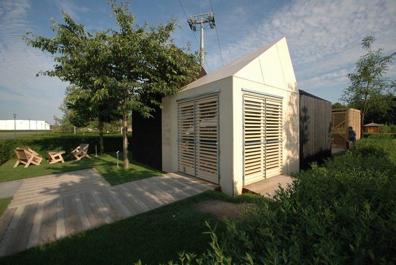 Houten designwoning te koop op marktplaats - Huis architect hout ...