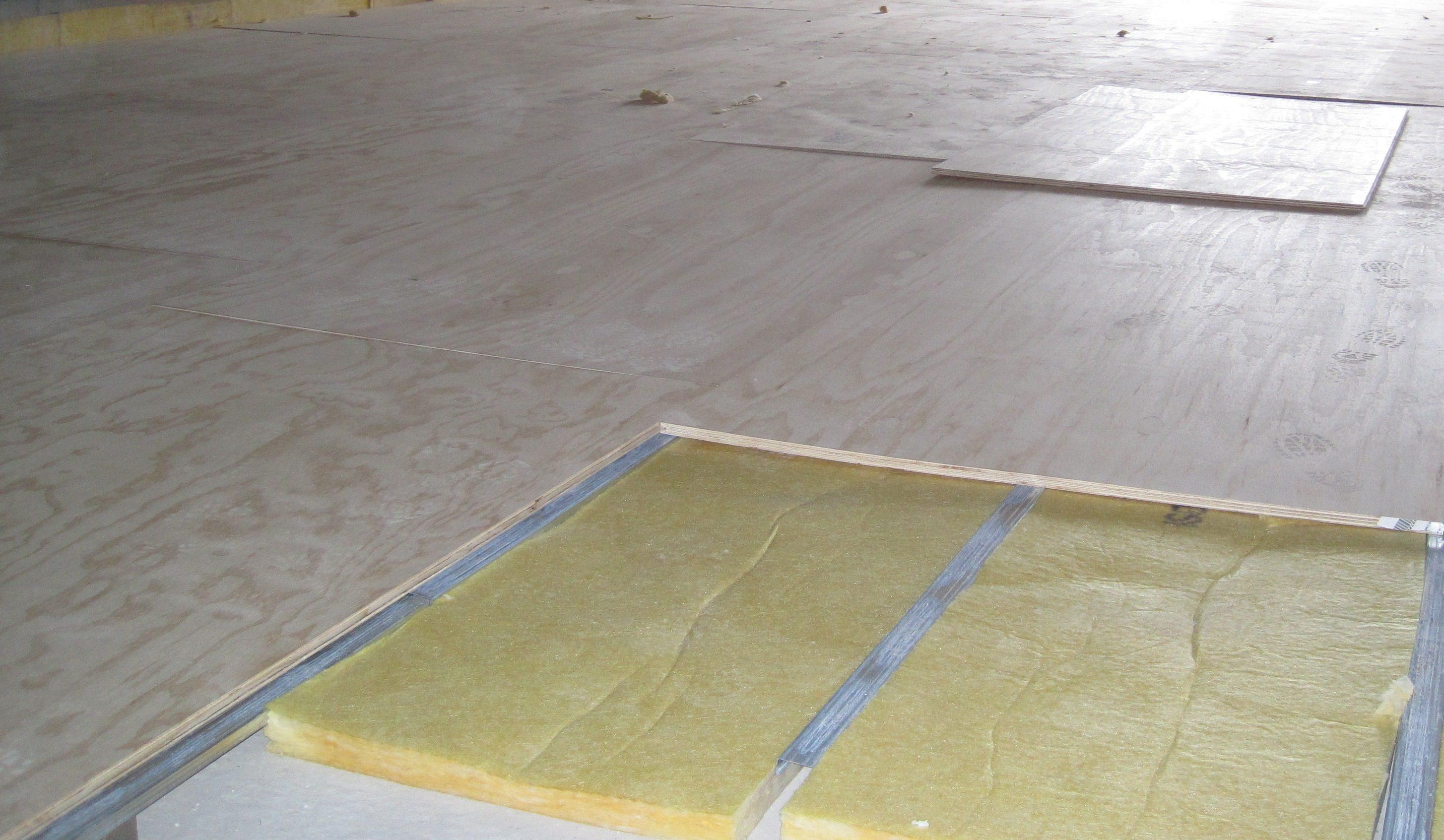 Zwevende vloeren appartementen zwevende geluidsisolerende vloeren