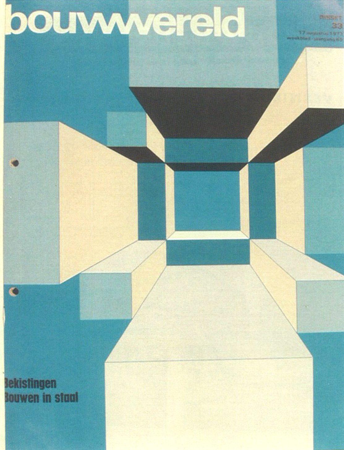 Bouwwereld verschijnt in 1956 als een echt tijdschrift, met voor het eerst haar huidige naam.