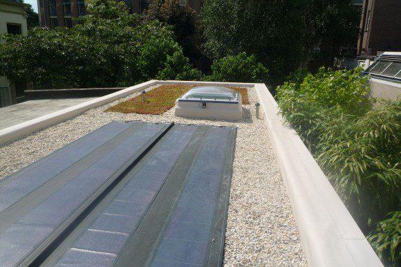 Duurzaam dak op Van Schijndelhuis