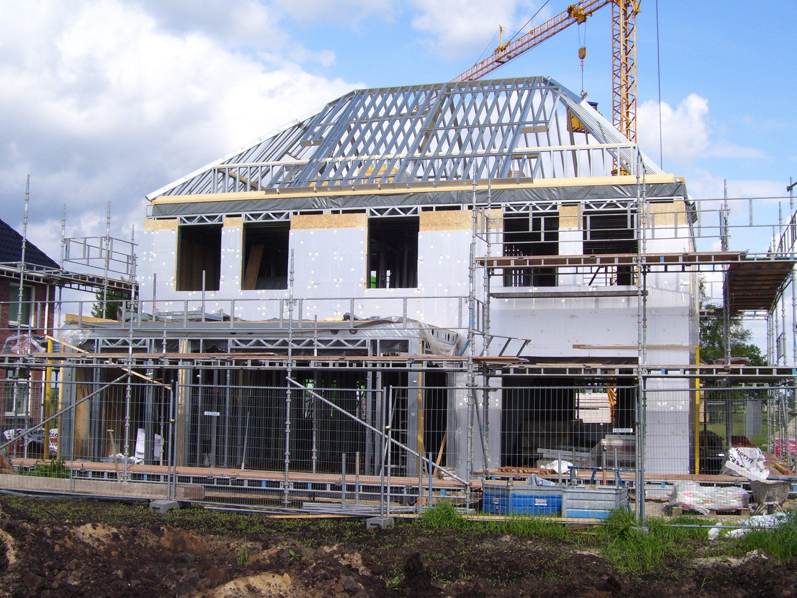 Kierdicht bouwen met staal - Huis roestvrij staal ...