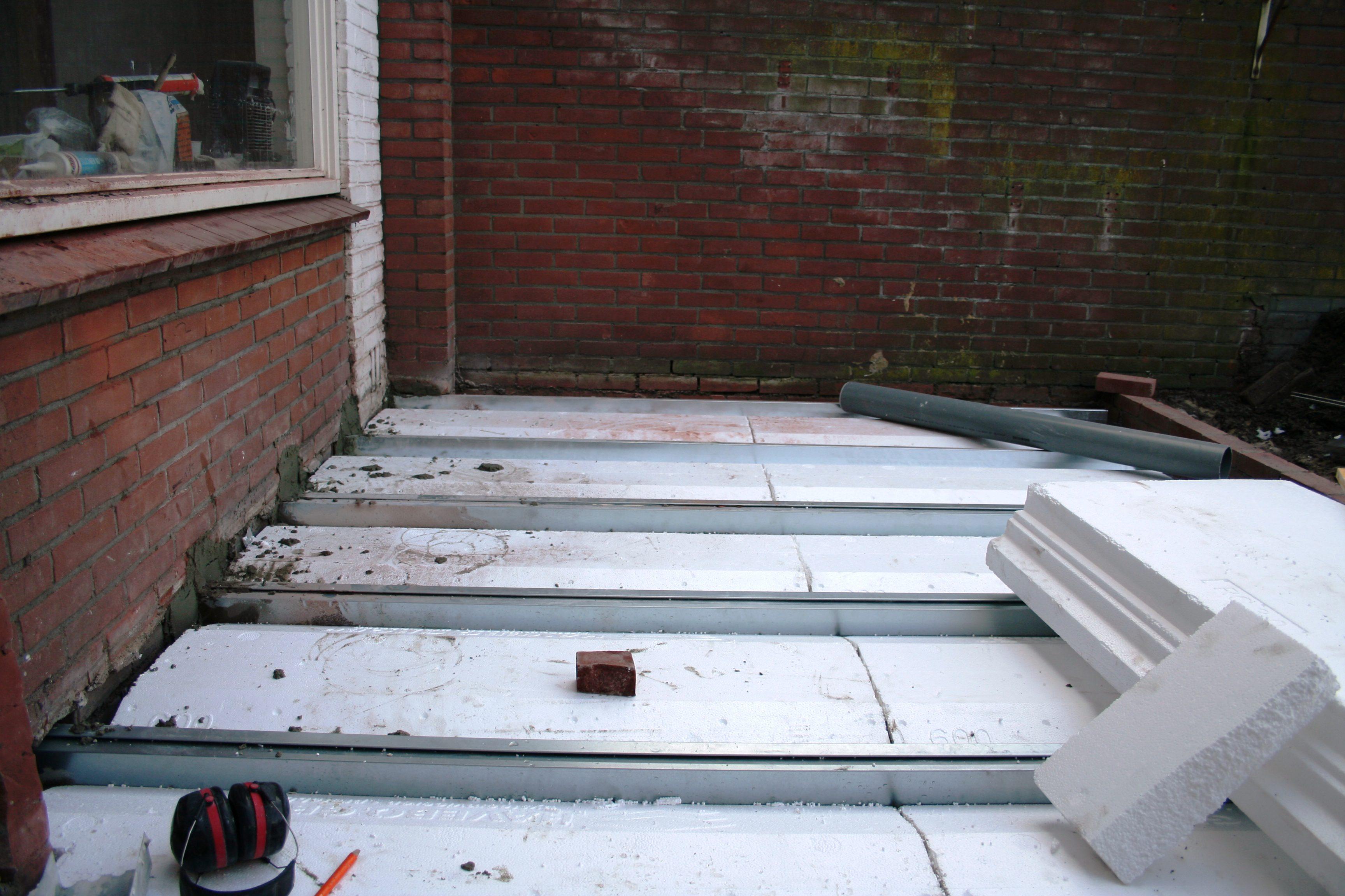 Favoriete PS-combinatievloer met lichte stalen ligger » Bouwwereld.nl HQ32