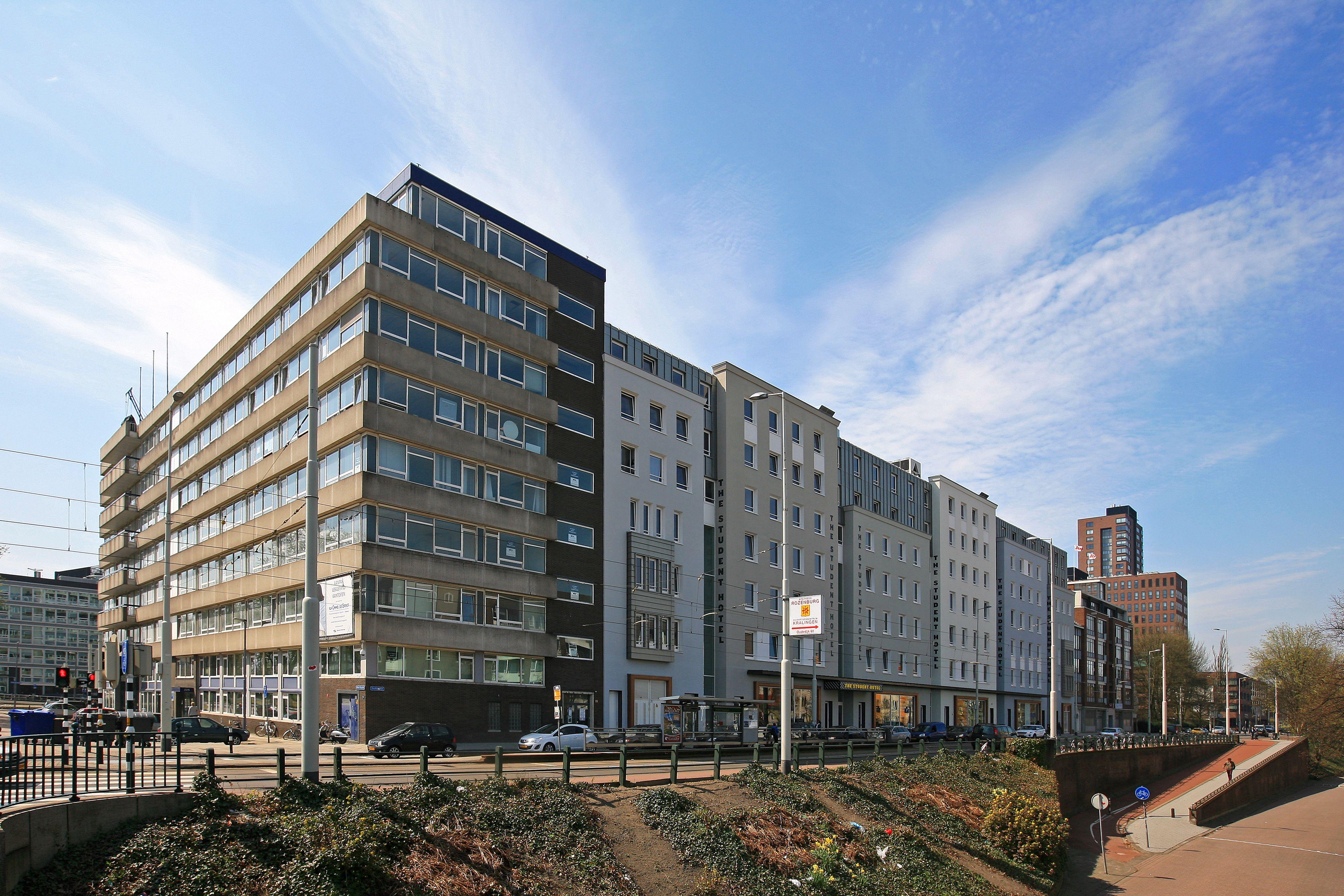 Trendy Studentenhotel in industriepand