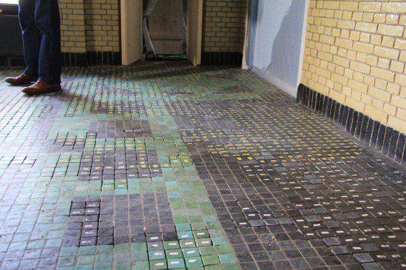 Monnikenwerk aan jachthuis sint hubertus - Tegelvloer patroon ...