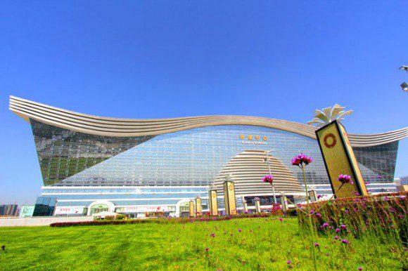 Grootste gebouw ter wereld in china - Salontafel herbergt de wereld ...
