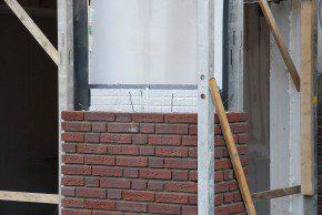 Cellenbeton, een isolatiepakket en gevelmetselwerk. 5 // 61 woningen in Ulft, systematisch gebouwd met cellenbeton conform de principes van het Passiefhuis. Bouw: Bouwbedrijf Klomps, Dinxperlo.