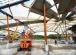 Tankstation onder dome