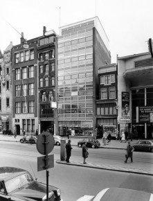 Damrak 66 in 1961. Foto: Stadsarchief Amsterdam
