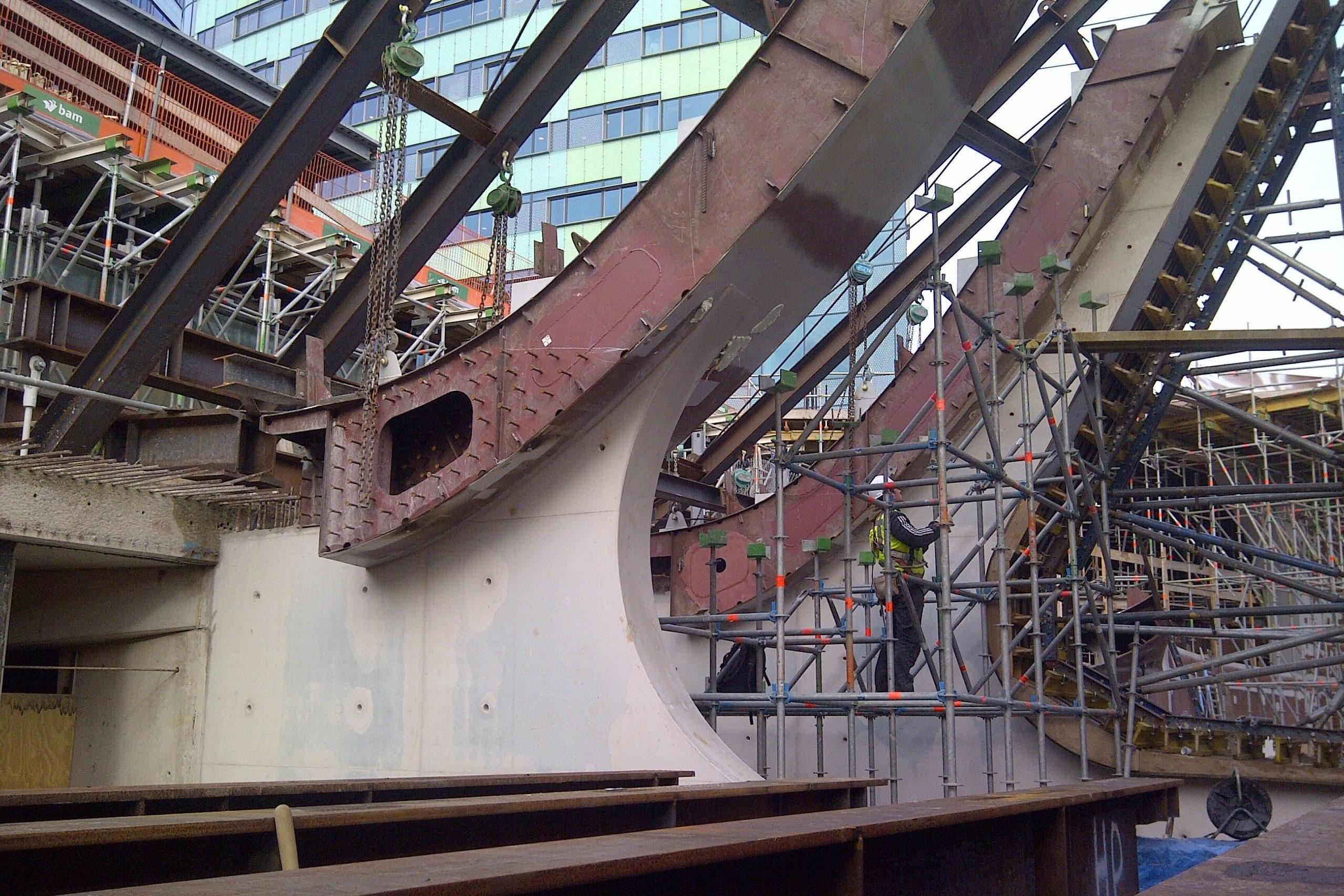 Scheepsbouwer bouwt aan Arnhem CS