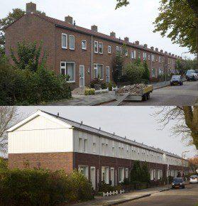 Voor en na. Foto: Sjef Prins - APA Foto