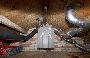 Installatie van Zehnder. Foto: Sjef Prins - APA Foto