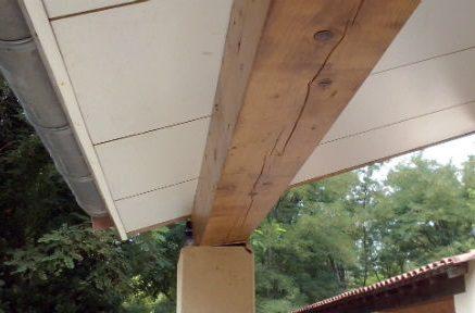 Oplegging balk - Plafond met balk ...