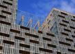 Op de tiende verdieping is een daktuin aangelegd tussen de torens. Foto: Rob Hoekstra