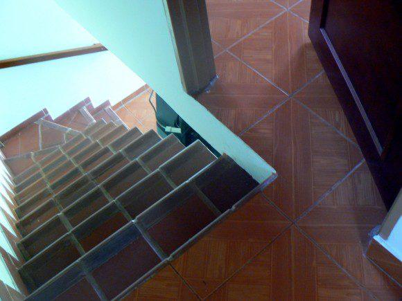 Gevaarlijke trap for Trap hellingshoek