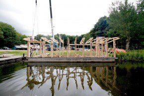 De bouw van de Drijfveer.