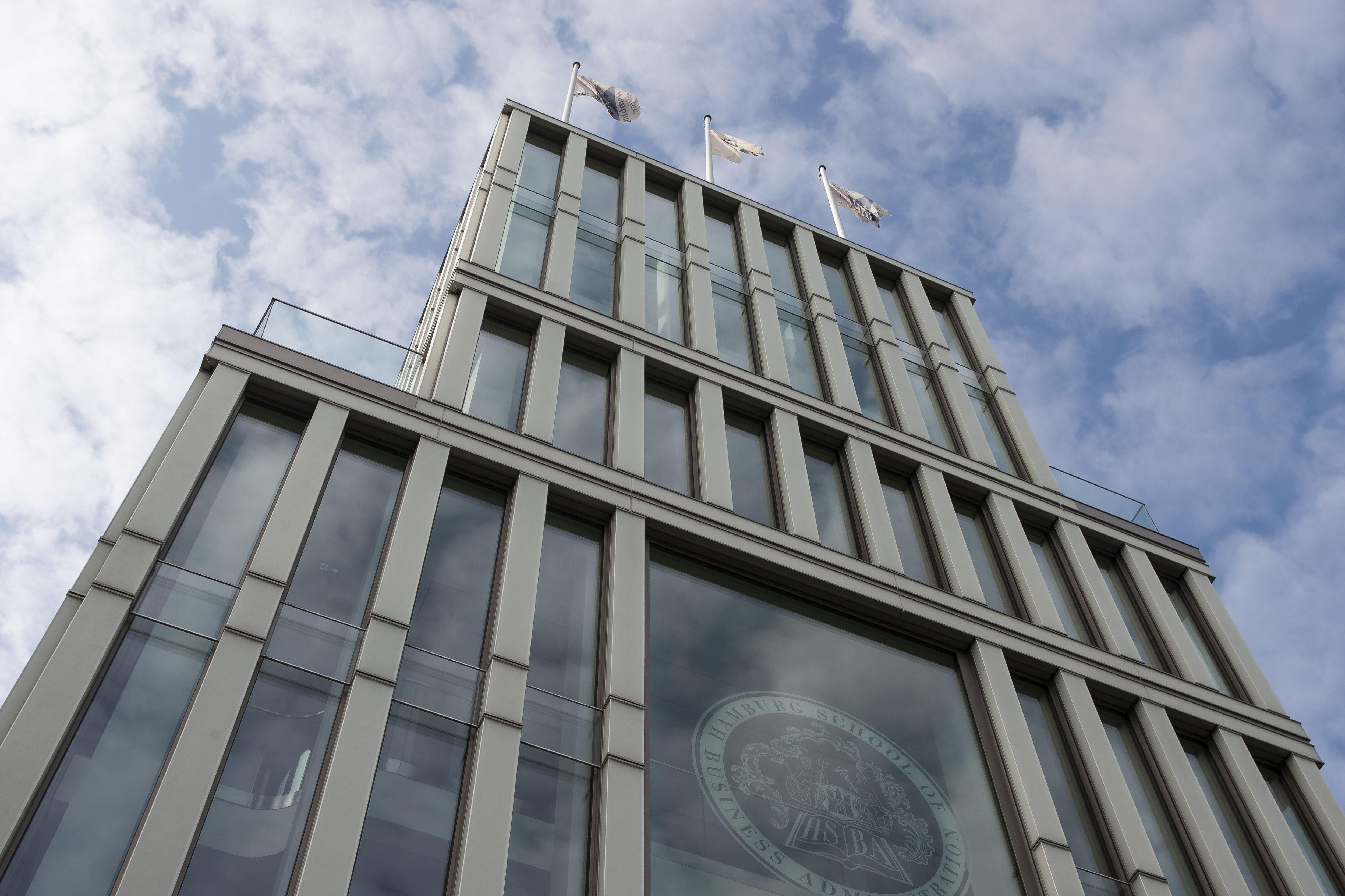 Art Deco omlijst energie-efficiënt gebouw