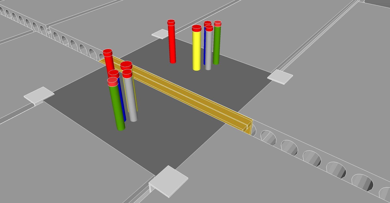 EPS-meterkastblok voor isolatieplaatvloer