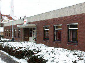 Het Rode Kruisgebouw vóór de renovatie