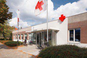 Het Rode Kruisgebouw na de renovatie.