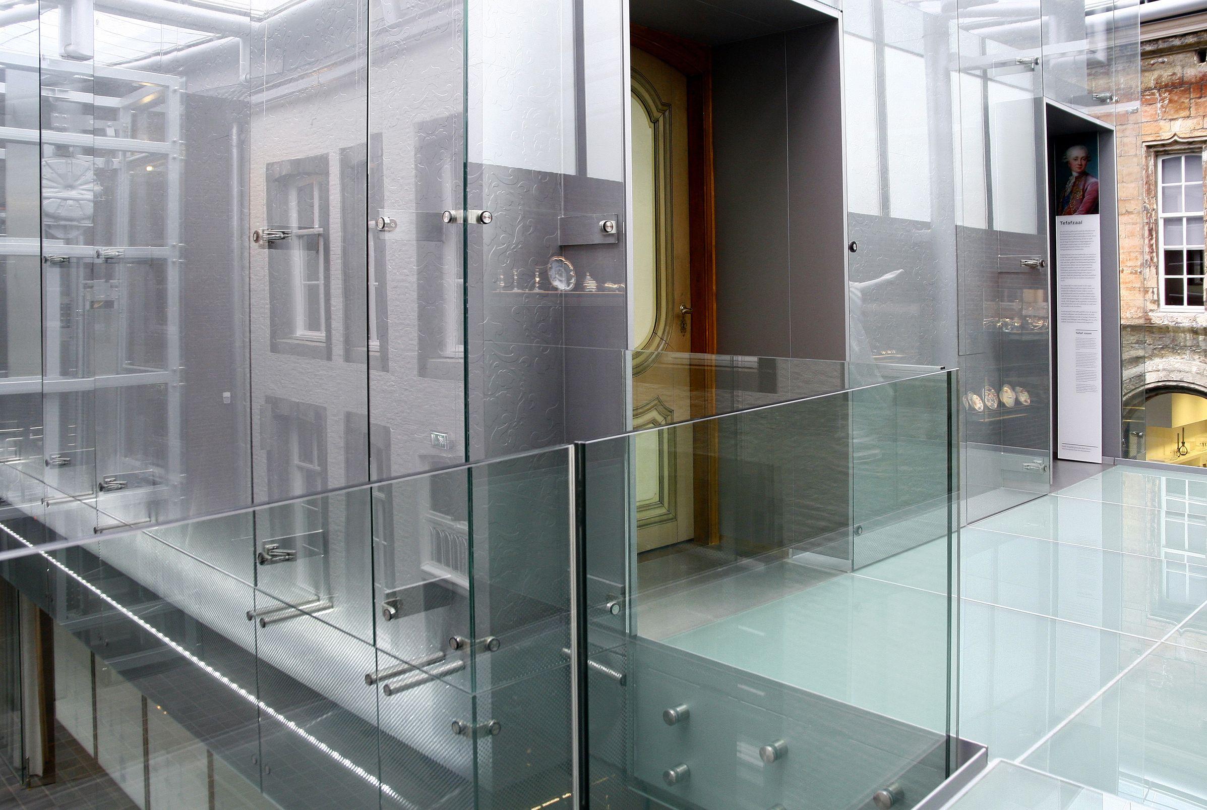 Steeds dikker glas in balustrades