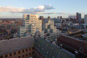 Timmerhuis Rotterdam vormt nieuw element aan skyline