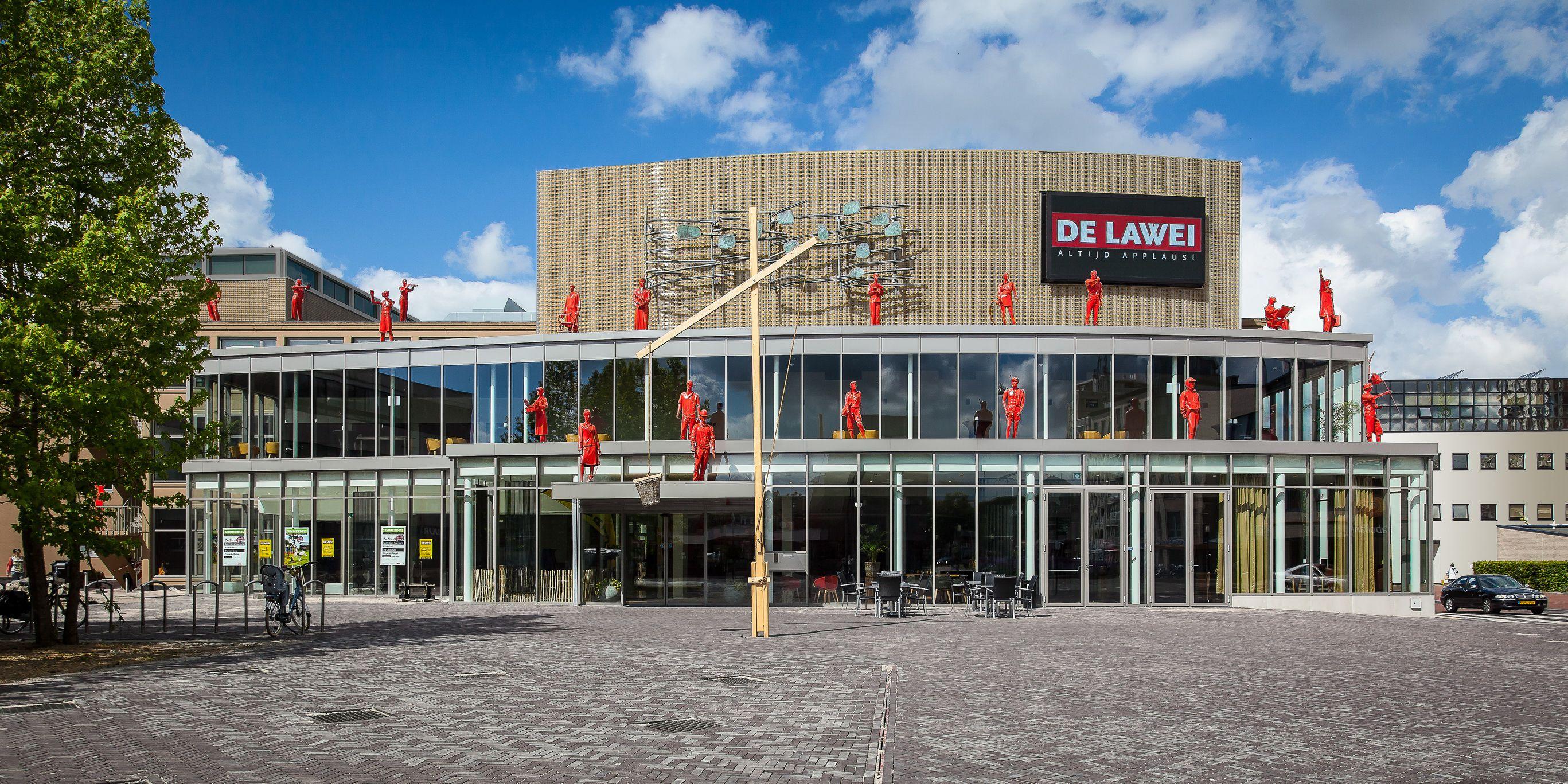 Duurzame transformatie voor theater in Drachten