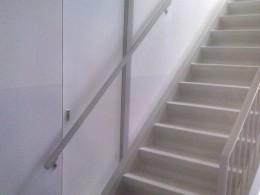 Deur achter trapleining bouwfout