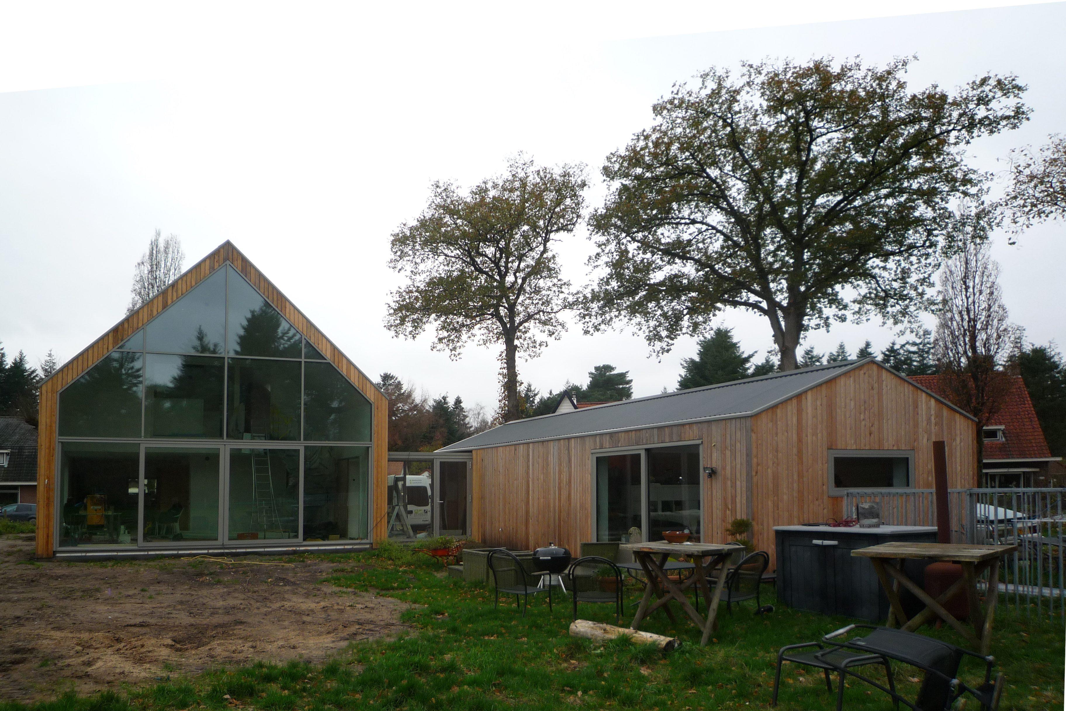 Hout En Beton : Rns systeembouw poort hout en beton rns systeembouw