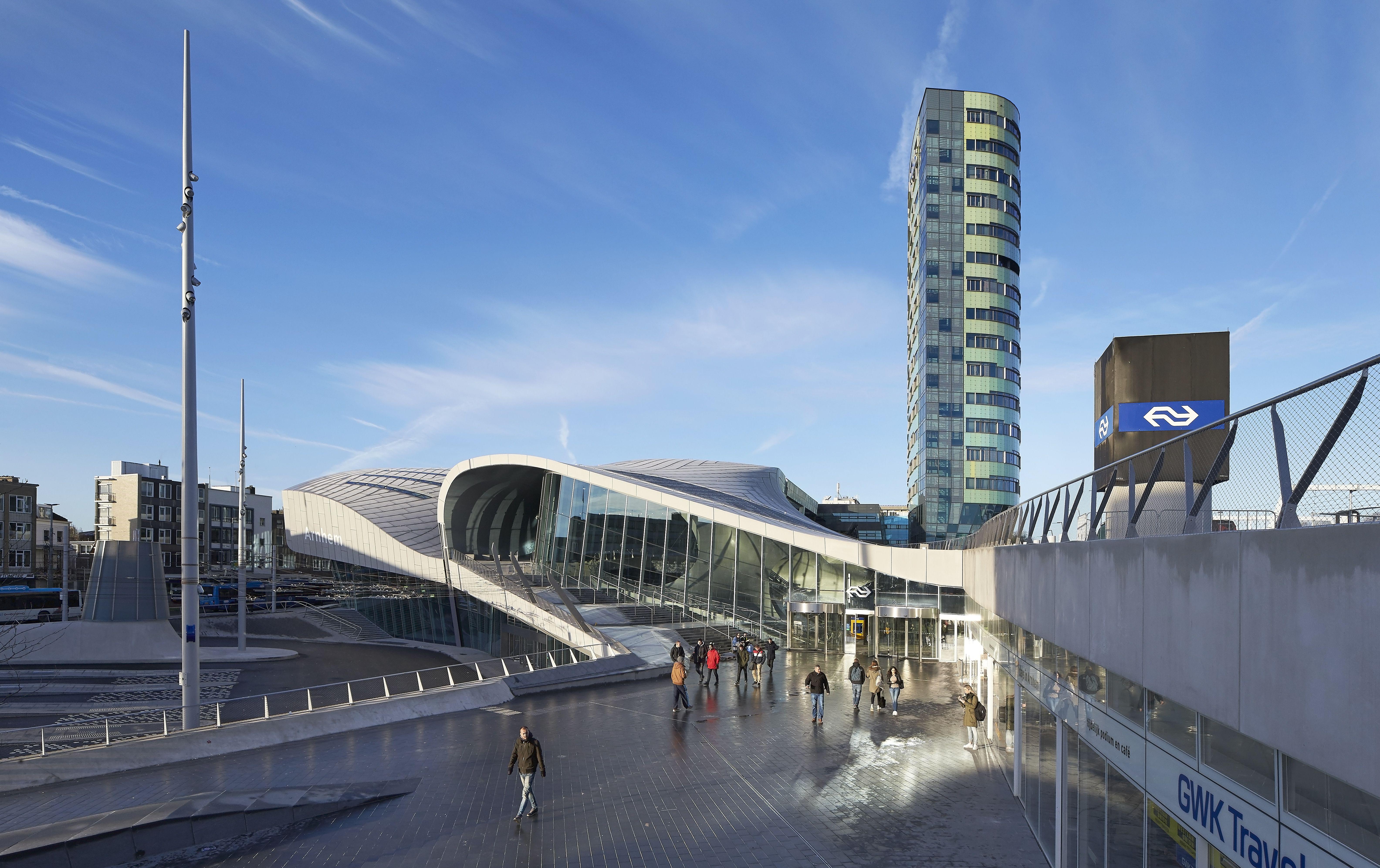 Ov terminal arnhem » bouwwereld.nl