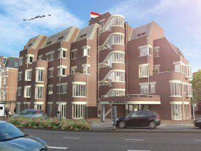 Transformatie beeldbepalend hotel - Eigentijds trap beton ...