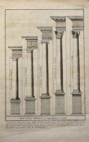 Vijf ordes. Jacopa Barazzo da Vignola. Parijs 1700