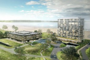 Bouw CSMART Campus in Almere Duin