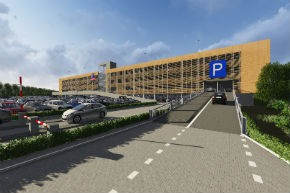 Nieuwe parkeergarage in Roermond