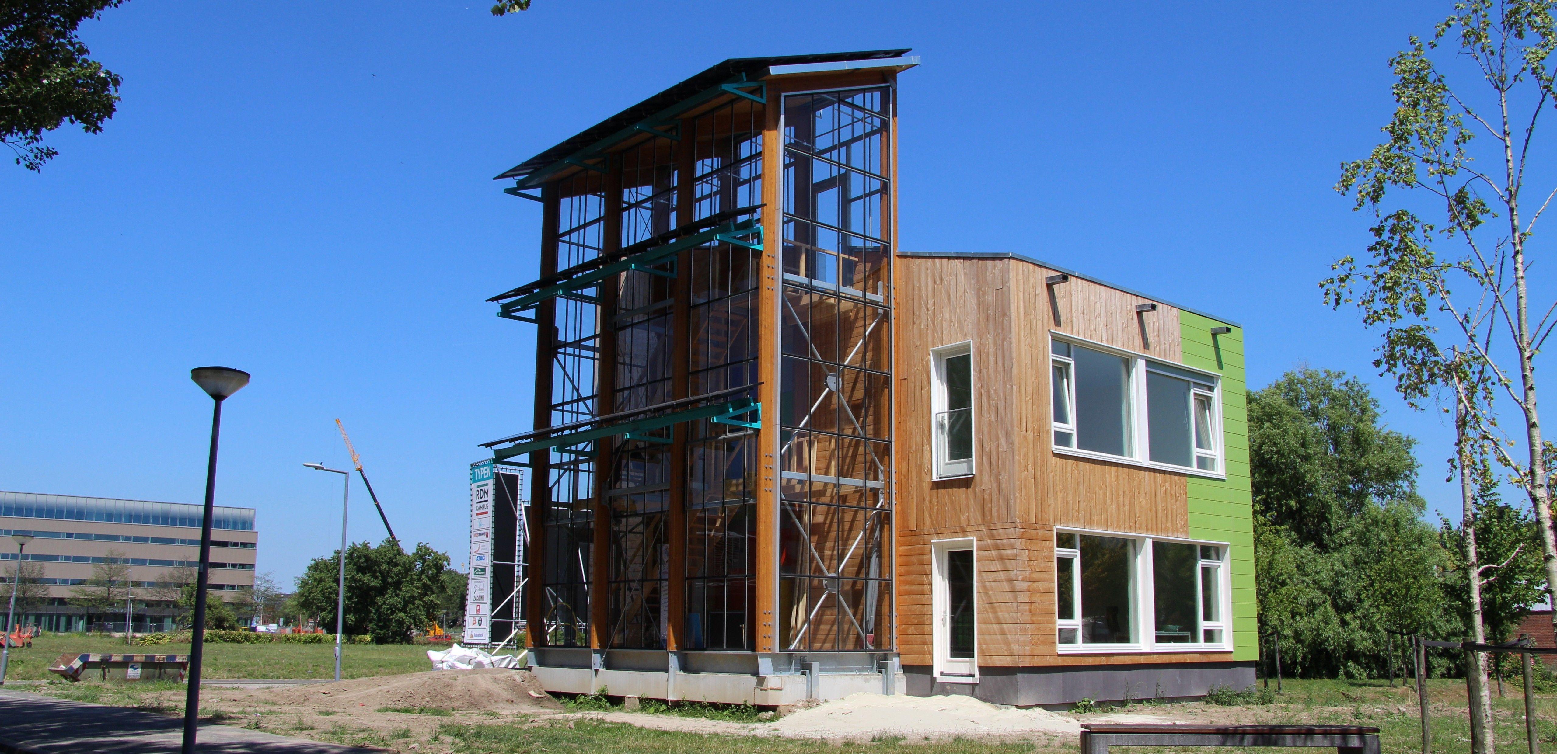 Duurzaam woningbouwproject: Karimunstraat, Rotterdam Heijplaat