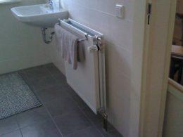 radiator, badkamer